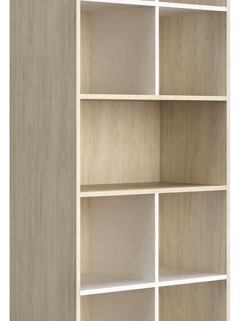 Open boekenkast Artefact 199 cm hoog in eiken | Gamillo Furniture