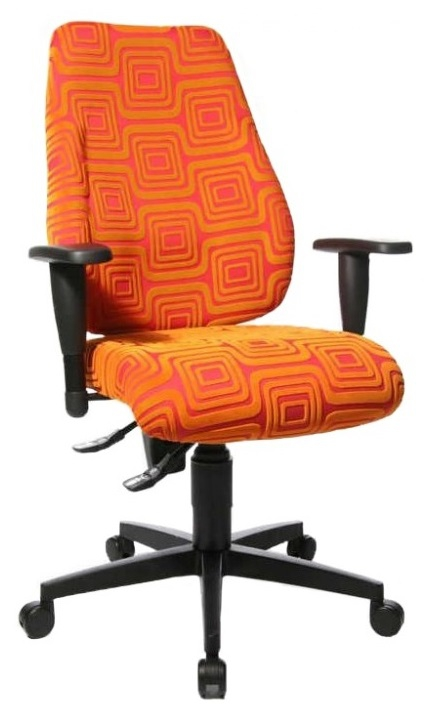Bureaustoel Lady Sitness in Oranje | TopStar