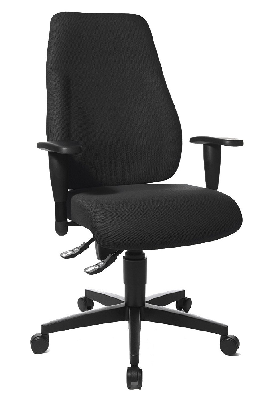 Bureaustoel Lady Sitness in zwart | TopStar
