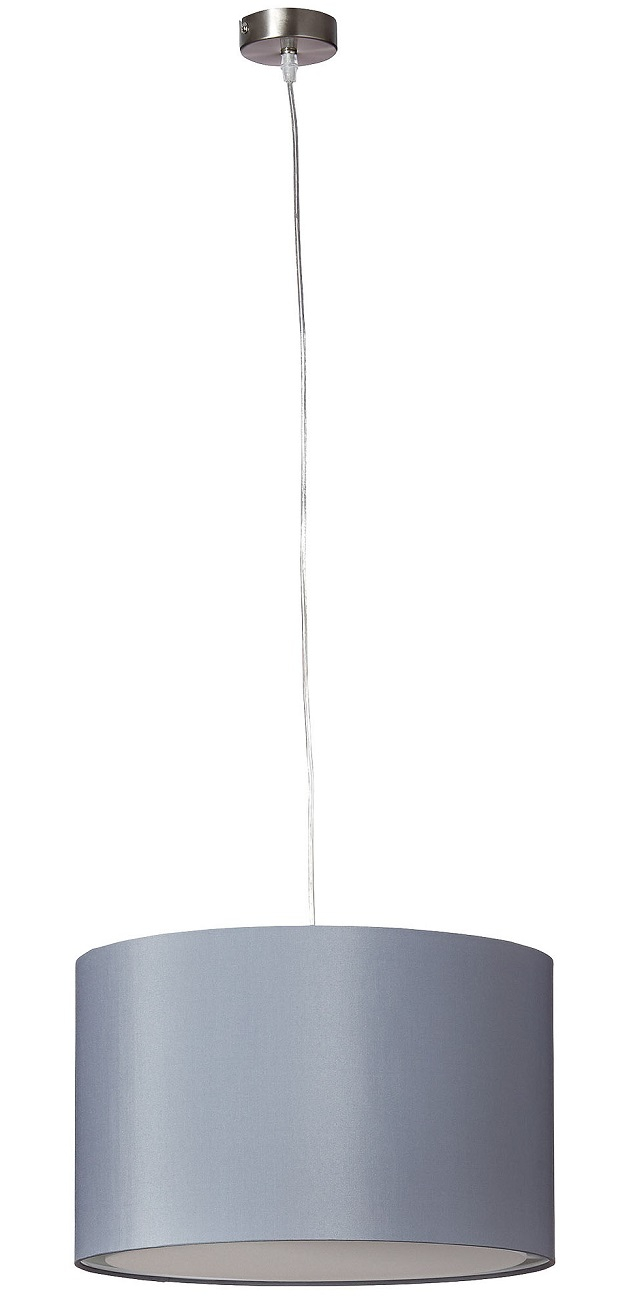 Hanglamp Charly 1xE27 max 60Watt in grijs | Brilliant