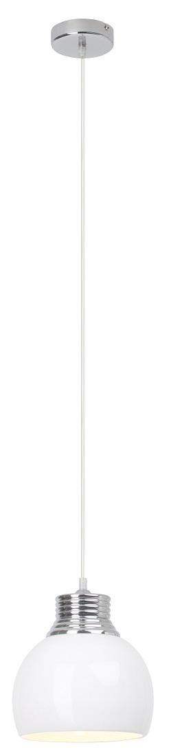 Hanglamp Ina 110 cm hoog 1xE27 max 60Watt in wit | Brilliant