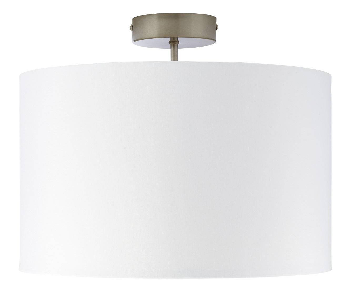Plafondlamp Charly 1xE27 max 60Watt in wit   Brilliant