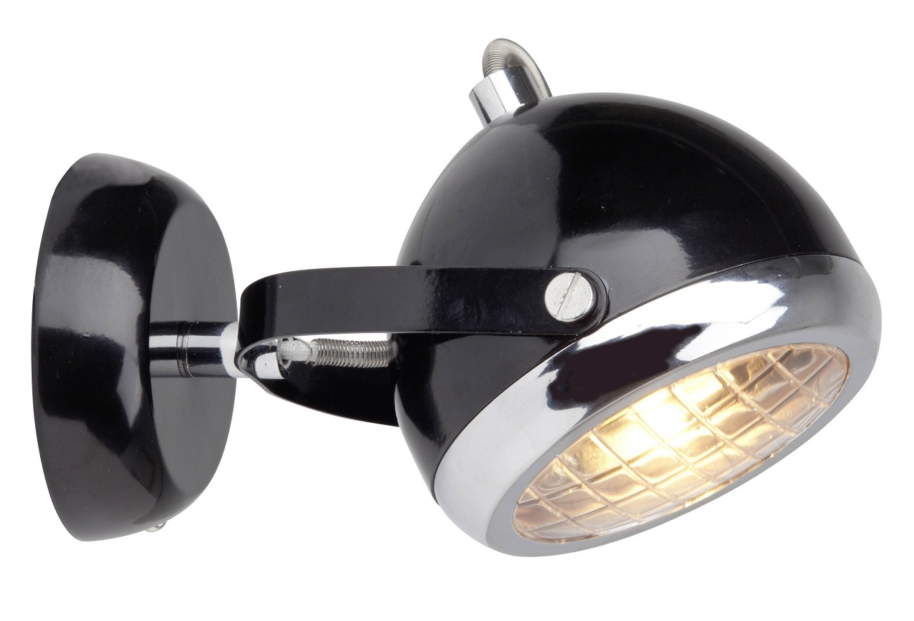 Wandlamp Relax 1xG9 max 33 Watt in zwart   Brilliant