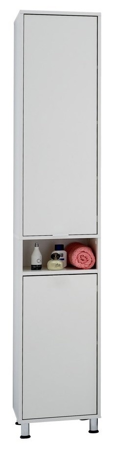 Badkamerkast Zamora 193 cm hoog in wit | FD Furniture