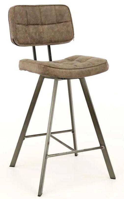 Barstoel Ginger 98 cm hoog per 4x – Donkerbruin | Zaloni