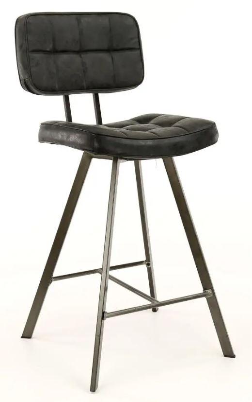Barstoel Ginger 98 cm hoog per 4x – Zwart | Zaloni