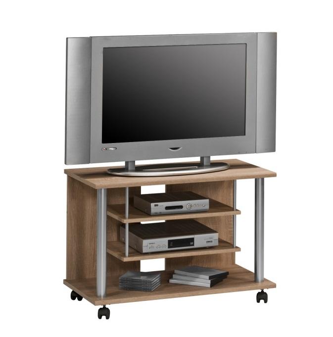 Tv-meubel Ronny 80 cm breed in sonoma eiken | Bermeo
