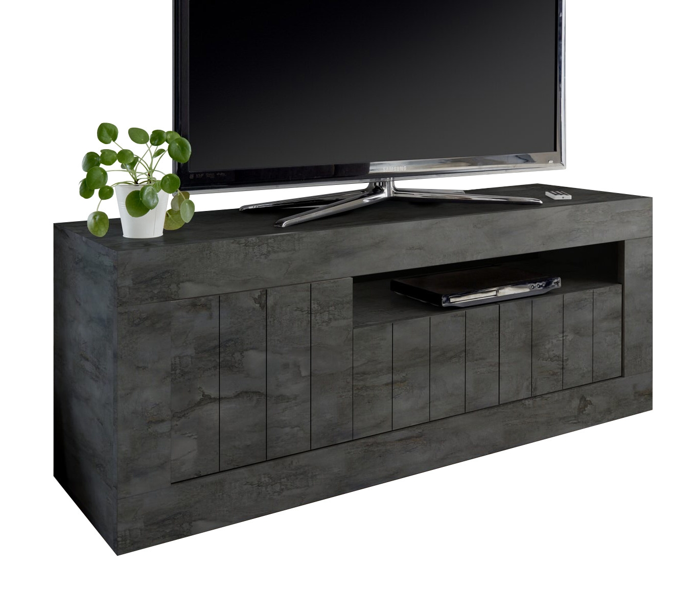 Tv-meubel Urbino 138 cm breed in oxid   Pesaro Mobilia