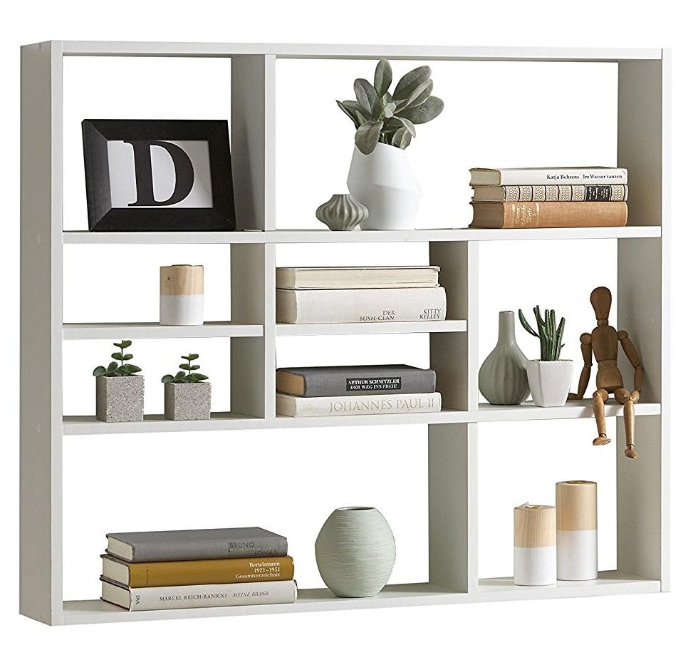 Wandrek Lussy 90 cm breed in wit | FD Furniture