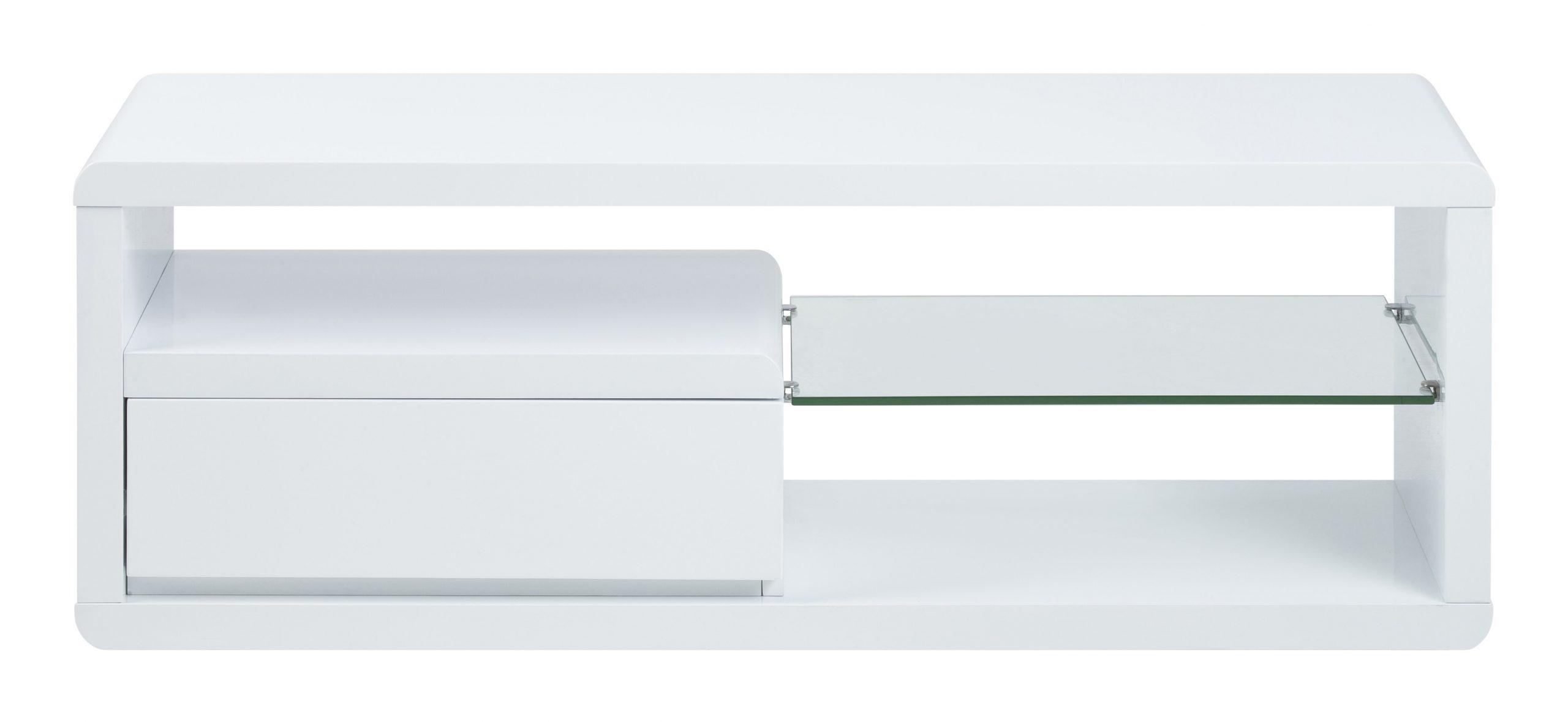 Bendt Tv-meubel 'Carsten' 120cm, kleur wit   Bendt