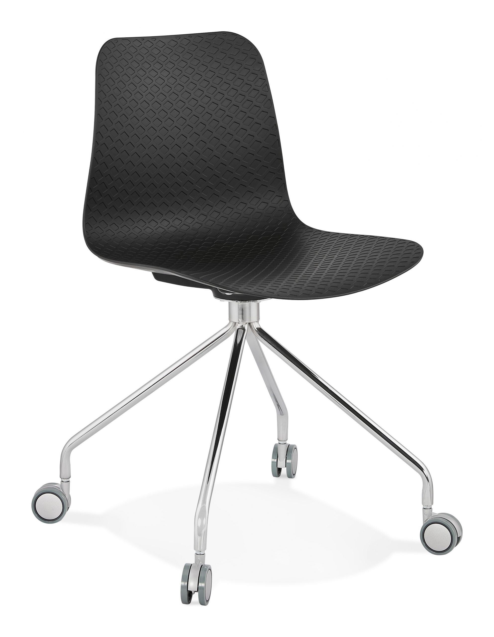 Kokoon Design Bureaustoel 'Rulle', kleur Zwart | Kokoon Design