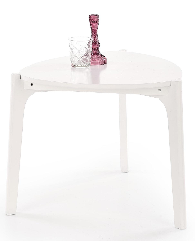 Bijzettafel Cerda 58 cm breed in wit | Home Style