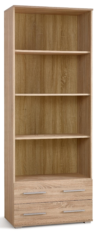 Boekenkast Lima 77 cm breed in sonoma eiken   Home Style