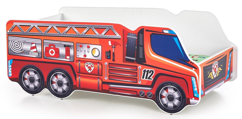 Kinderbed Brandweerauto 70x140cm | Home Style