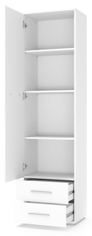 Kledingkast Lima 60 cm breed in hoogglans wit | Home Style