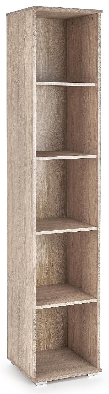 Open boekenkast Lima 40 cm breed in sonoma eiken   Home Style