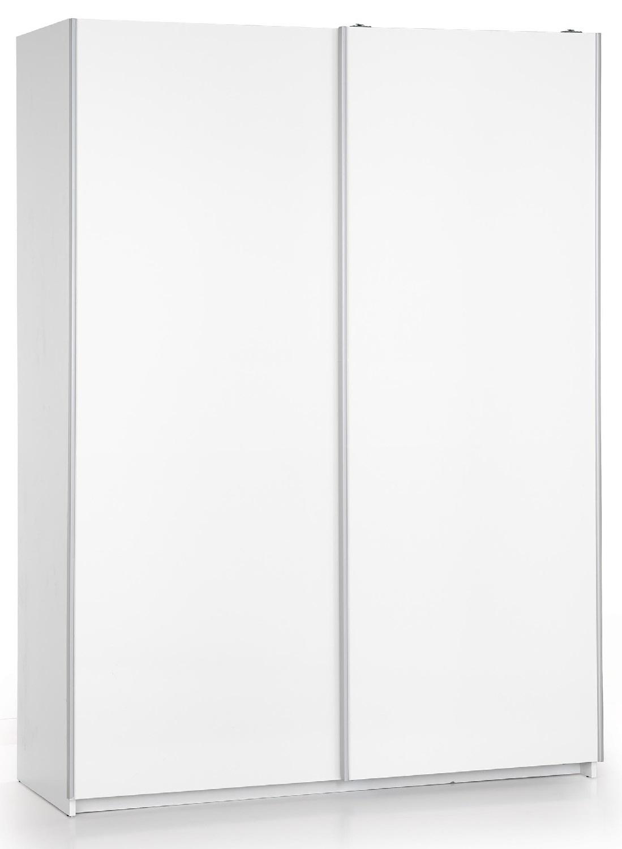 Schuifdeurkast Lima 153 cm breed in hoogglans wit | Home Style