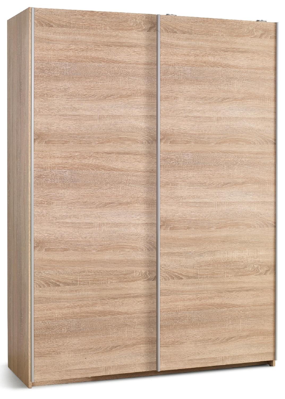 Schuifdeurkast Lima 153 cm breed in sonoma eiken | Home Style