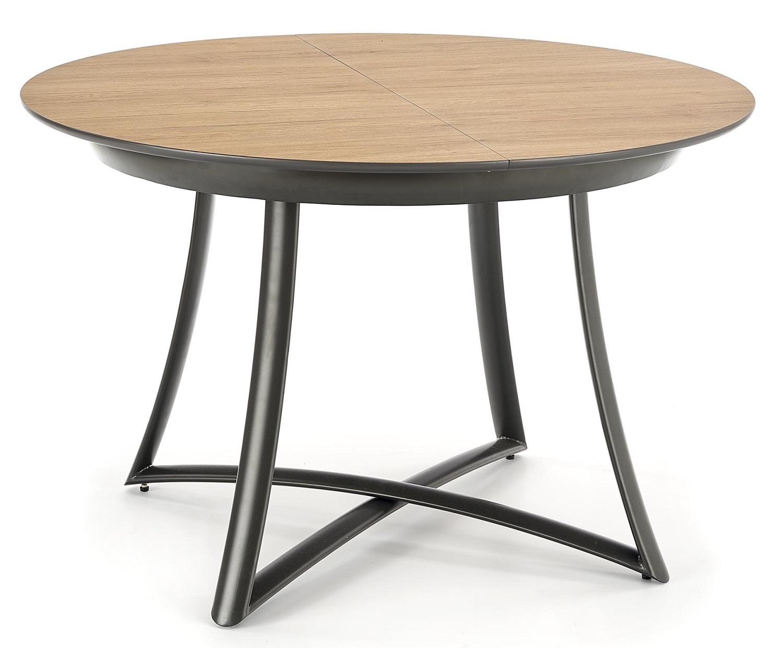 Uitschuifbare ronde eettafel Moretti 118 tot 148 cm breed | Home Style