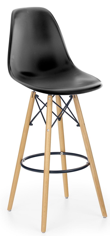 Barkruk Nevada in zwart | Home Style