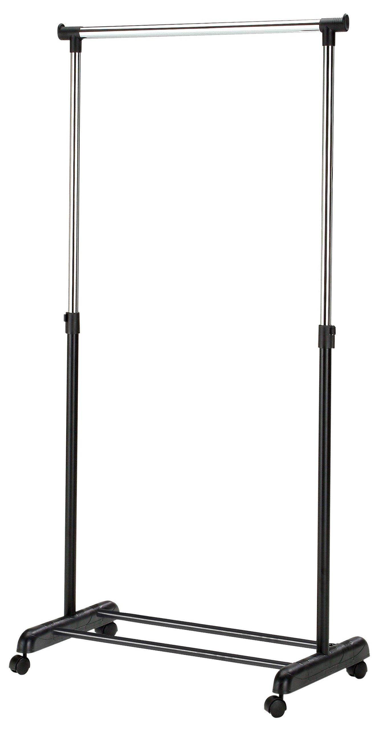 Kledingrek Easy 88 cm breed in zwart | Home Style
