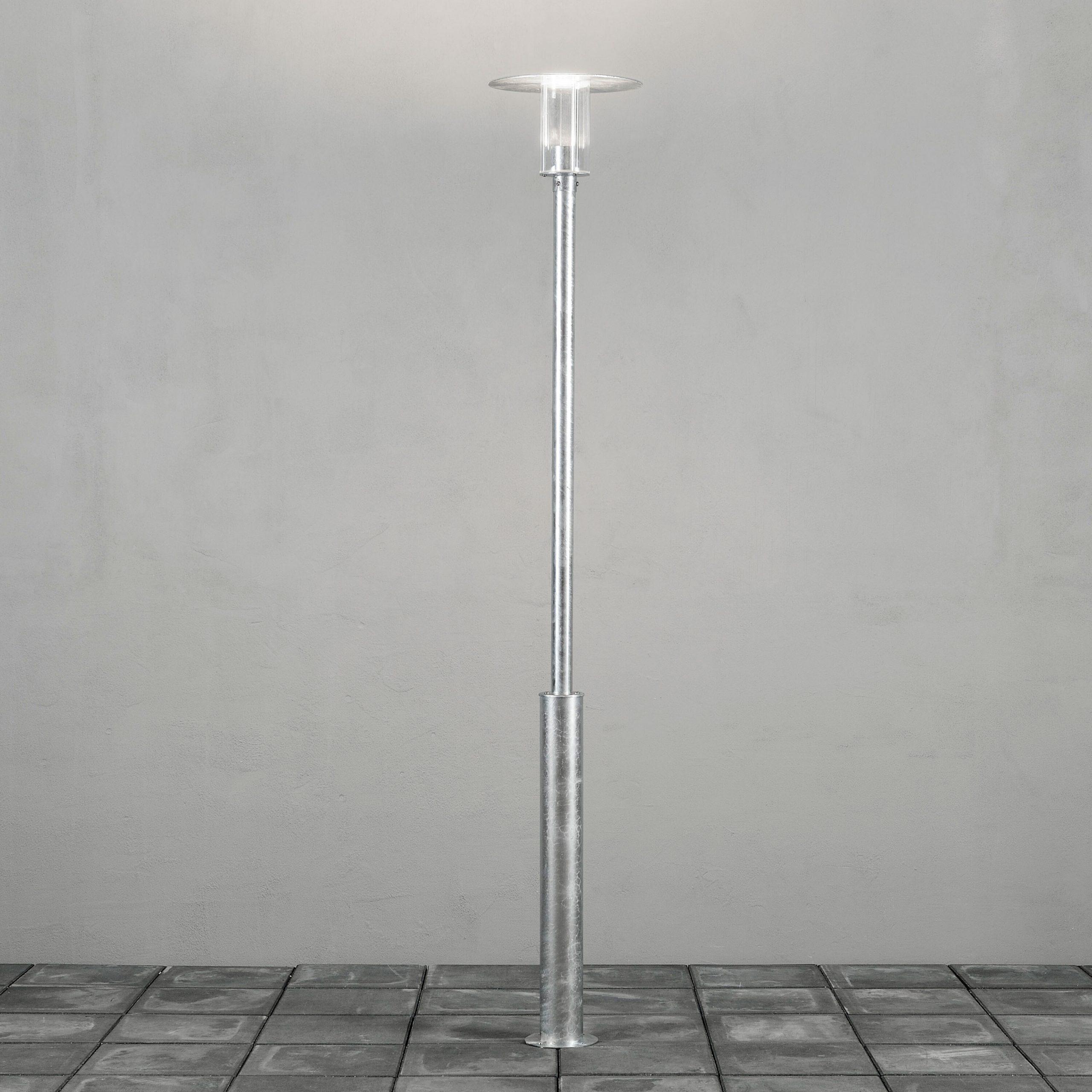 Konstsmide Buitenlamp 'Mode' Staande lamp, 220cm hoog, PowerLED 1 x 8W / 230V | Konstsmide