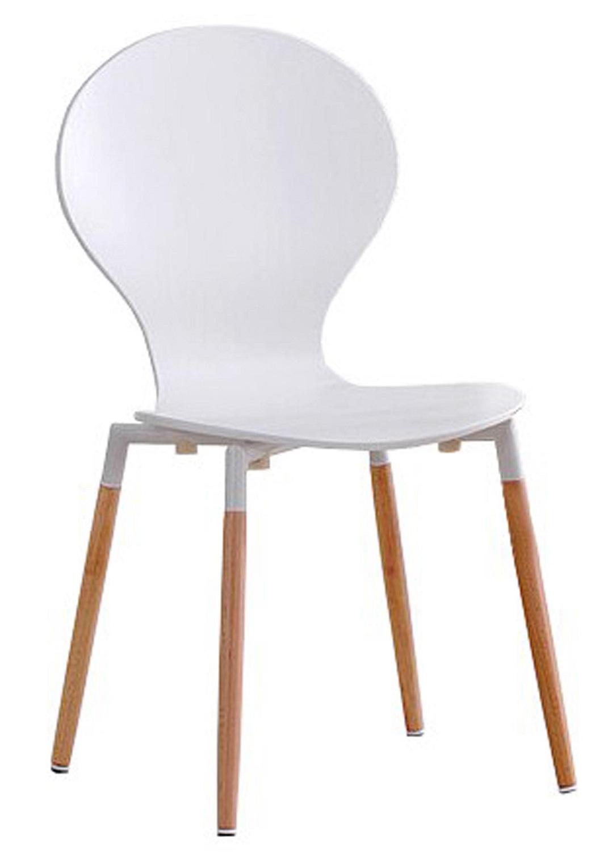 Eetkamerstoel Calvin in wit | Home Style