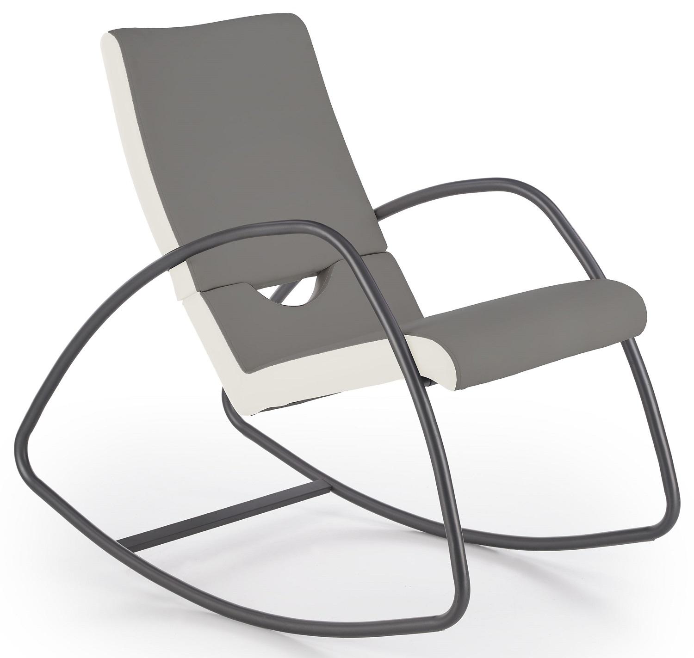 Fauteuil Balance in grijs met wit | Home Style
