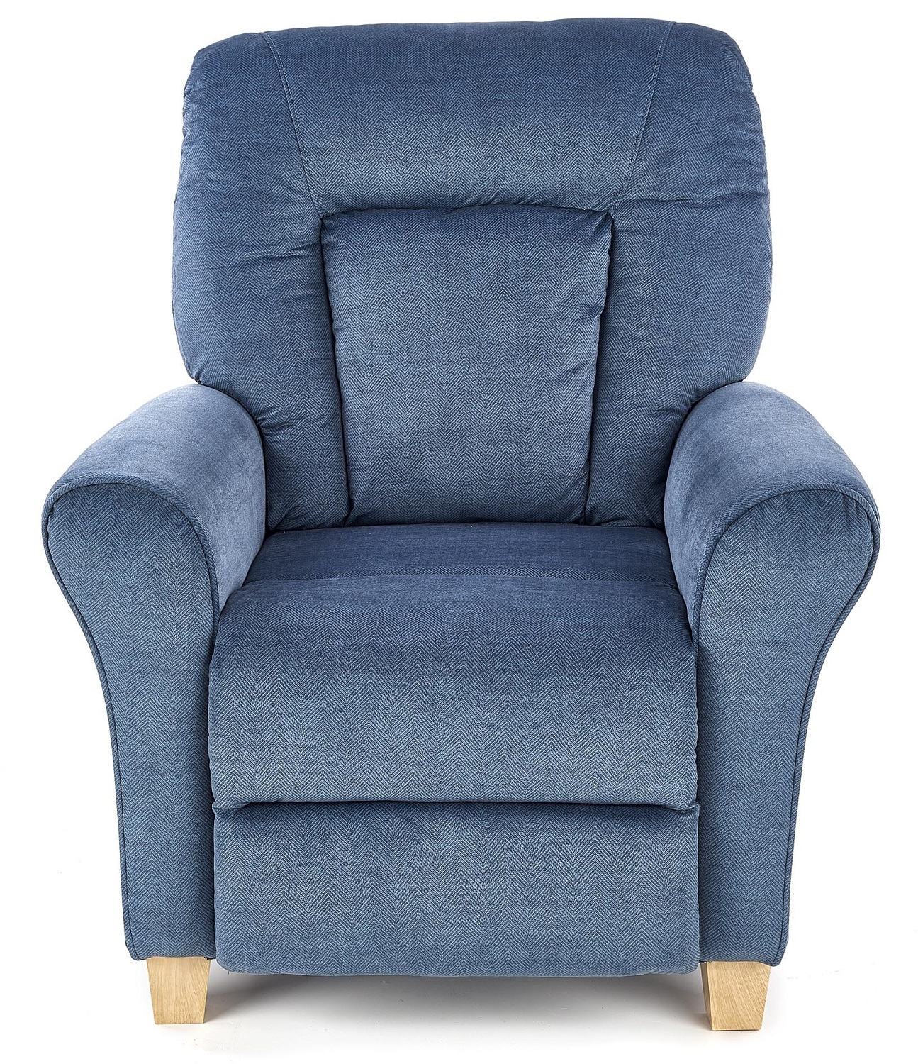Fauteuil Bard in donkerblauw | Home Style