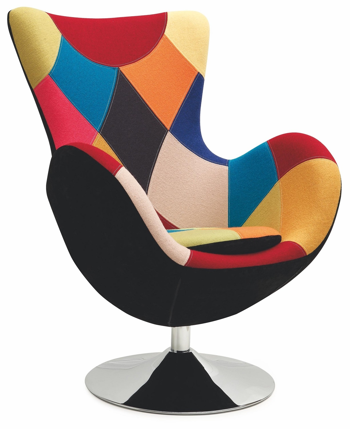 Fauteuil Butterfly in multicolor | Home Style