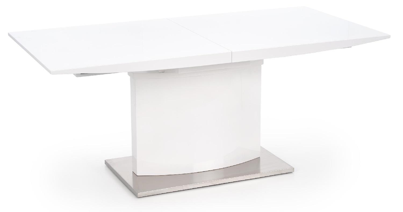 Uitschuifbare eettafel Marcello 180 tot 220 cm breed in wit | Home Style