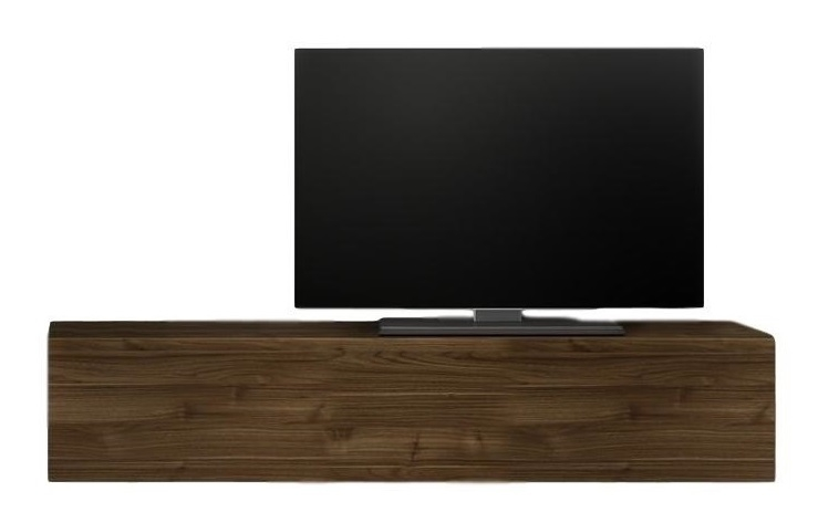 Zwevend Tv-meubel Tesla 138 cm breed in walnoot | Pesaro Mobilia