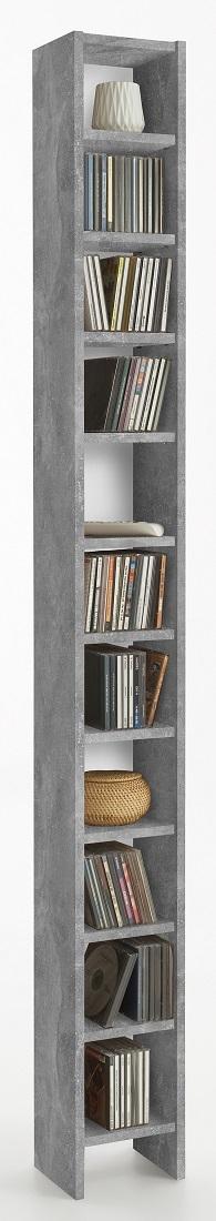 CD DVD Kast – Grijs beton   FD Furniture