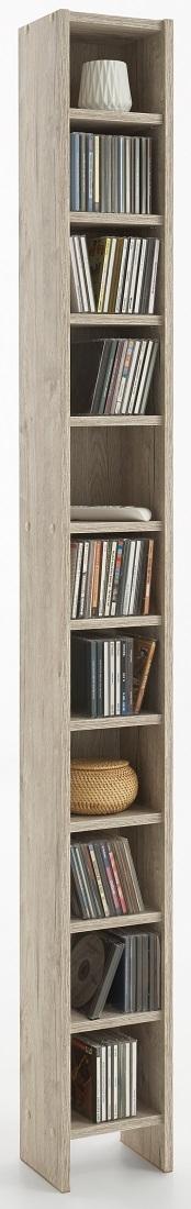 CD DVD Kast – Zand eiken   FD Furniture