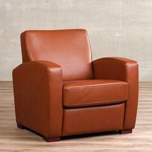 Leren fauteuil kindly, 120+ kleuren leer, in stoel   ShopX