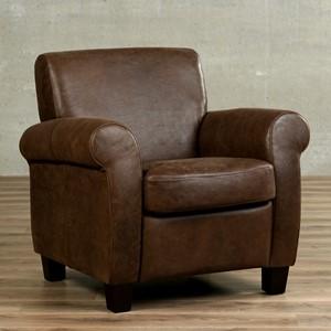 Leren fauteuil perfection, 120+ kleuren leer, in stoel   ShopX
