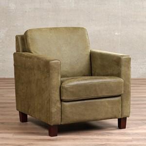Leren fauteuil smart, 120+ kleuren leer, in stoel   ShopX