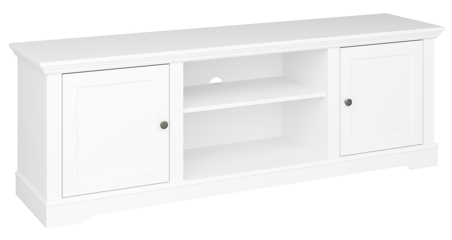 Tv-meubel Venice 160 cm breed in wit | DS Style