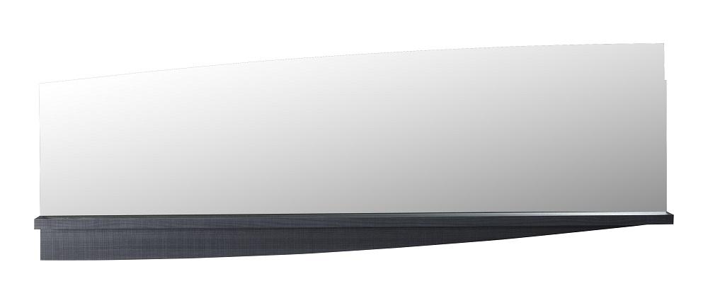 Wandspiegel Elypse 160 cm breed – Bruin eiken | Ameubelment