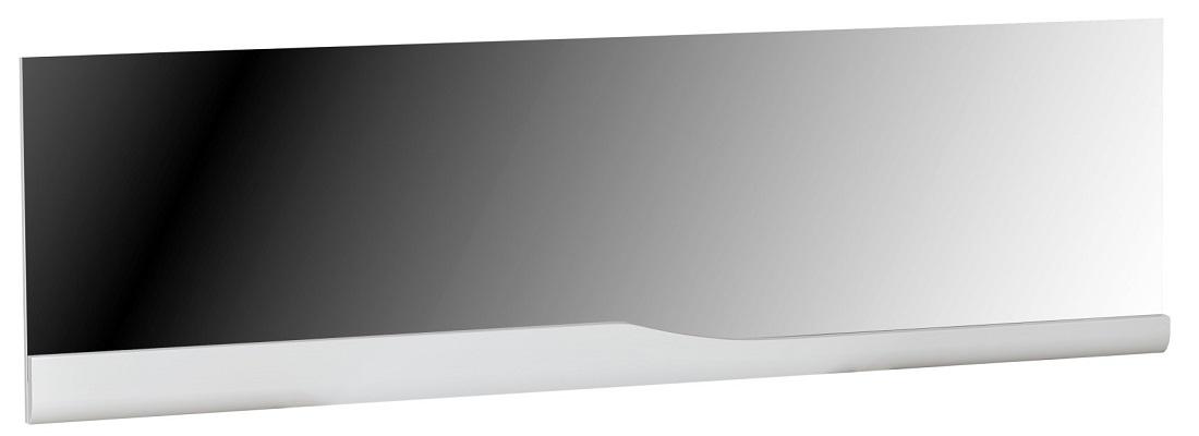 Wandspiegel Ovio 180 cm breed – Hoogglans Wit | Ameubelment