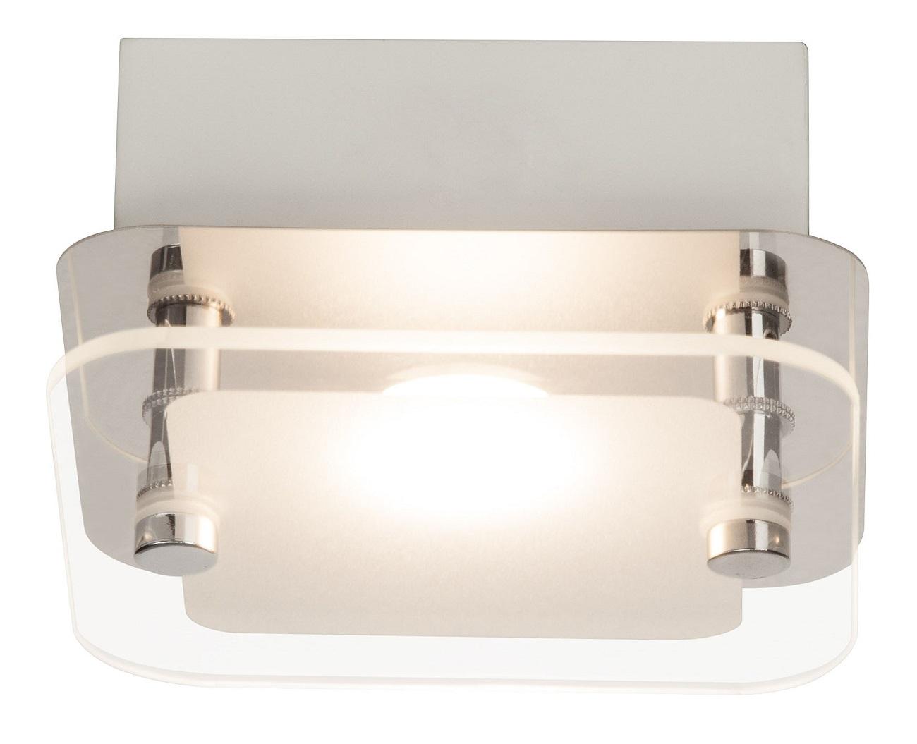 Plafondlamp Mountain LED 5Watt in chroom | Brilliant
