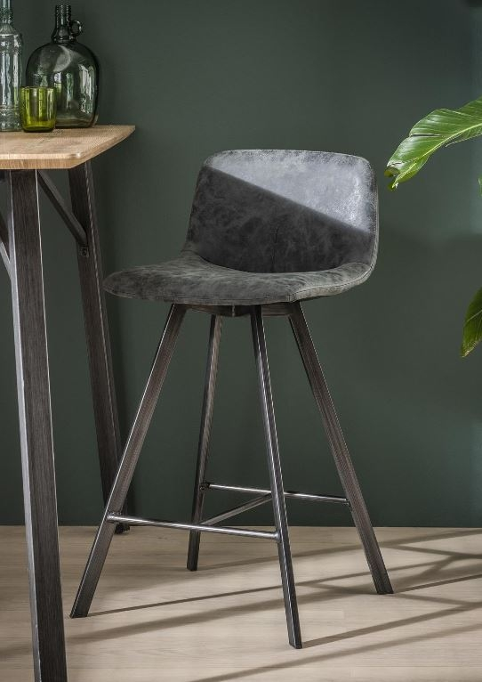 Barstoel Aura – Zwart per 4x | Zaloni