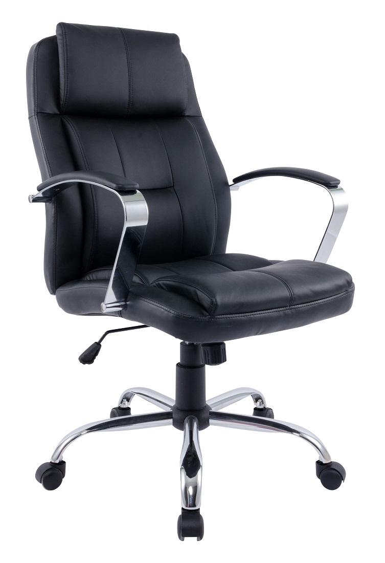 Bureaustoel Chromo – Zwart | Young Furniture