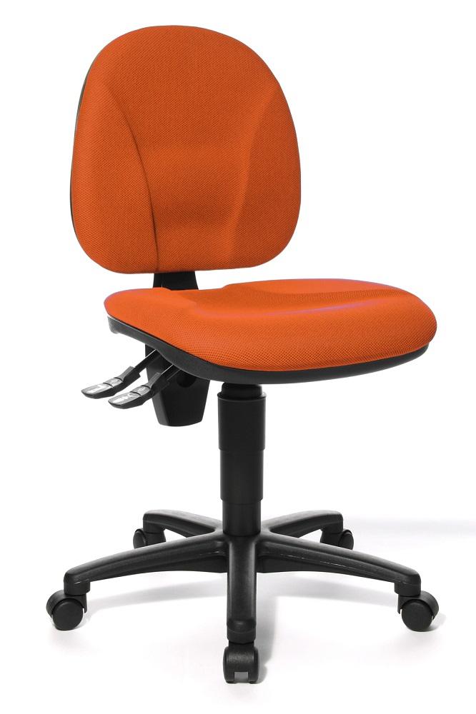 Bureaustoel Point 10 – Donker Oranje | TopStar