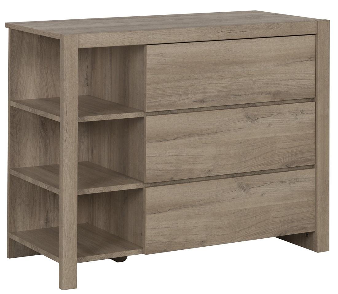 Commode Ethan 79 cm hoog in kronberg eiken | Gamillo Furniture