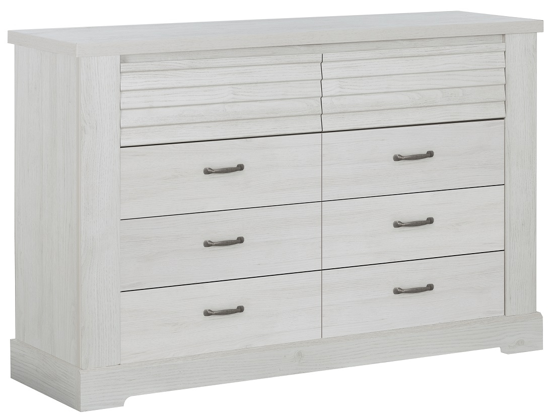 Commode Thelma 151 cm breed in gekalkte kastanjehout | Gamillo Furniture