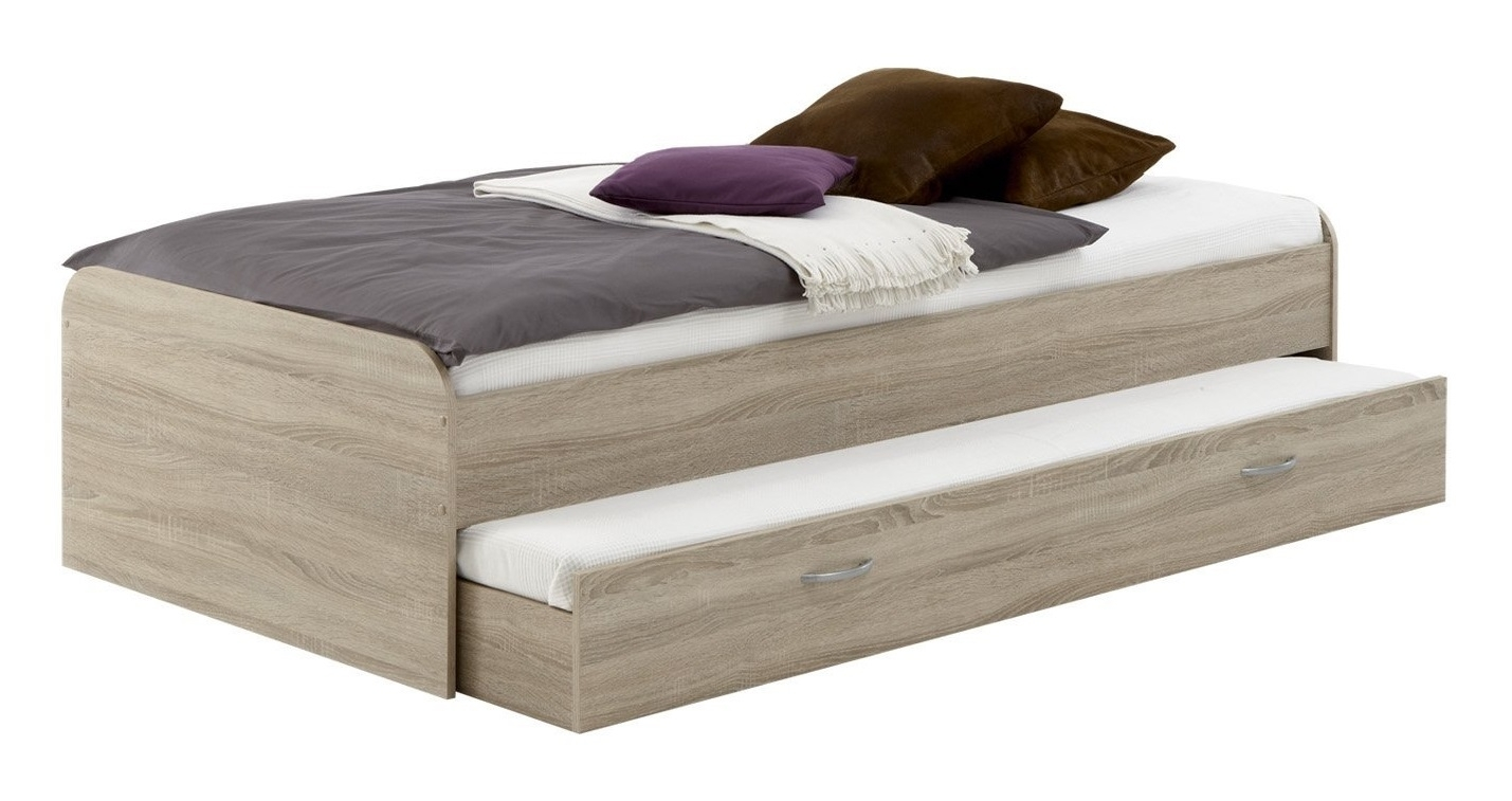 Kajuitbed Pedro 90x200cm – Eiken | FD Furniture