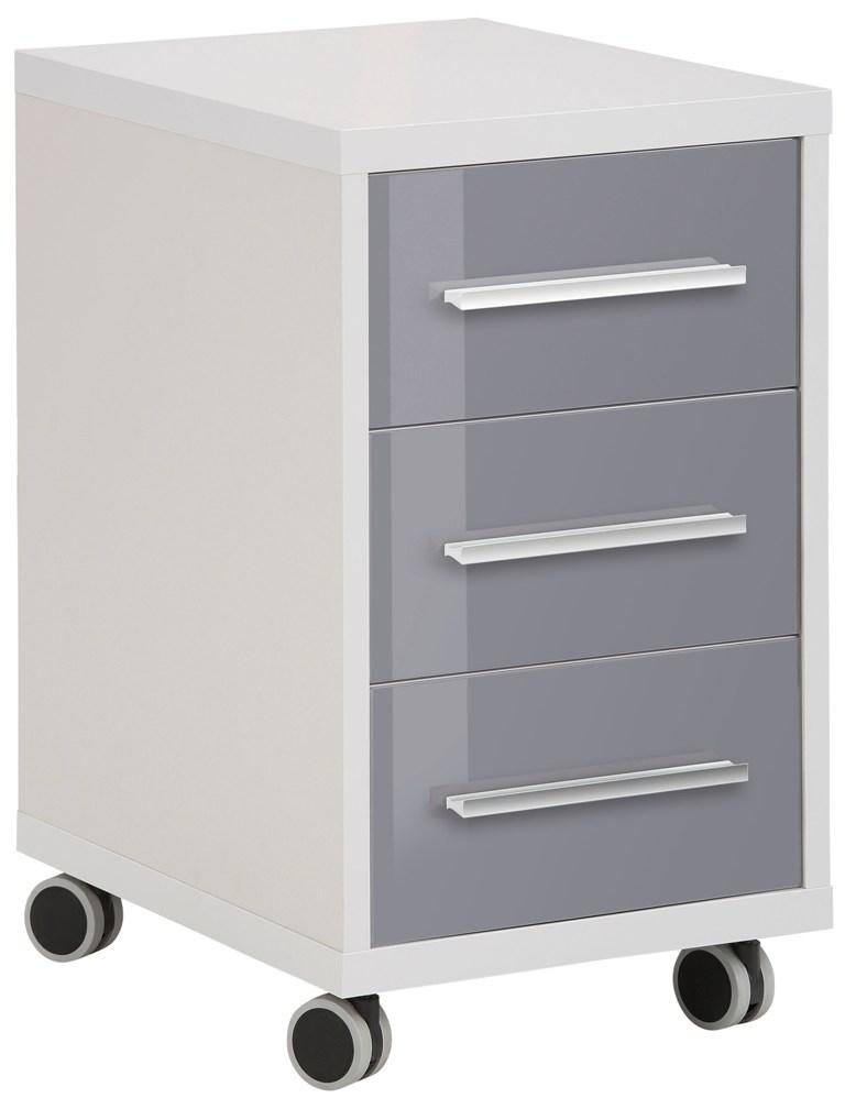 Ladeblok Banco 68 cm hoog – Plantina grijs met grijs | Bermeo
