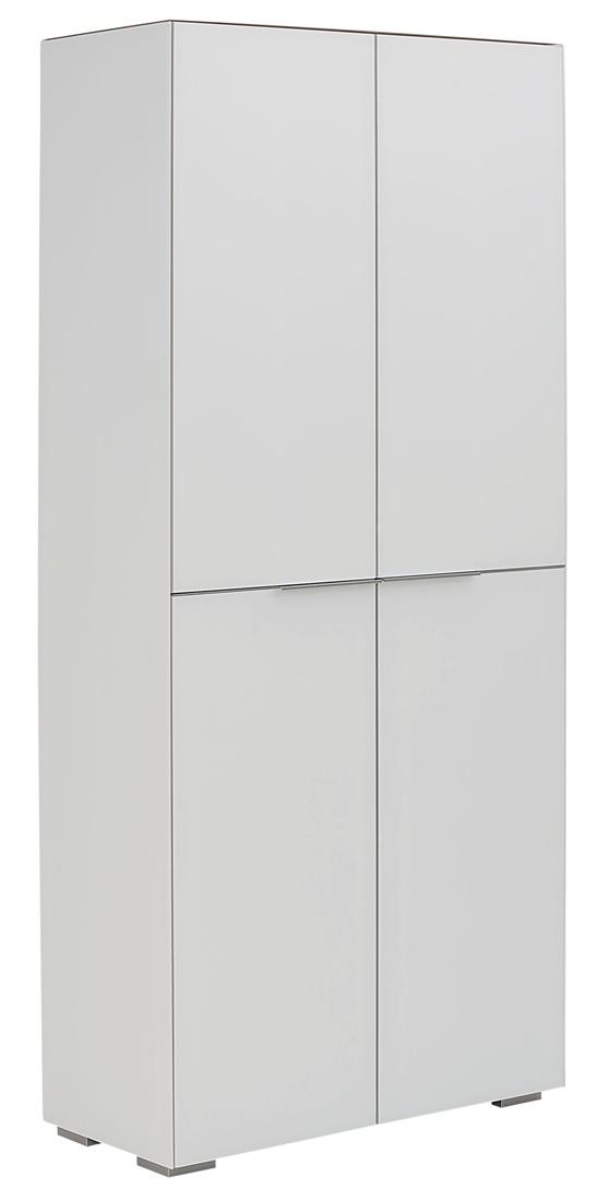 Opbergkast Yas 180 cm hoog – Wit | Bermeo