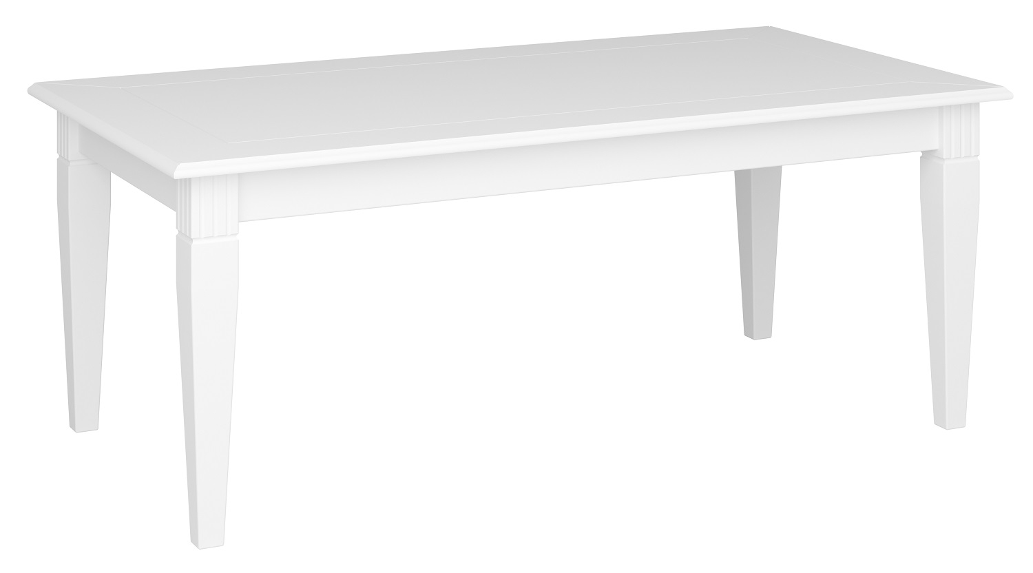 Salontafel Venice 130 cm breed in wit | DS Style